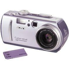 Sony Cyber-shot DCS-P30 1.3MP Digital Camera (Electronics)