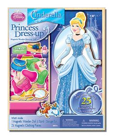 Another great find on #zulily! Disney Princess Magnetic Dress-Up Set by Disney #zulilyfinds