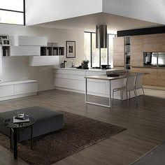 una proposta di cucina con isola. abbiamo infinite soluzioni ... - Cucine Colorate Roma