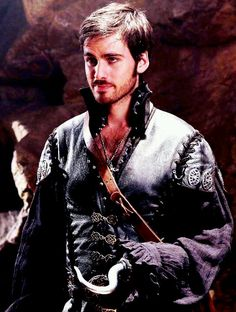 Once Upon A Time. Hook (: HOLY CRAP THERE ARE NO WORDS