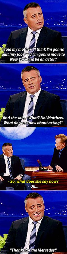 Matt LeBlanc On The Talk Show.