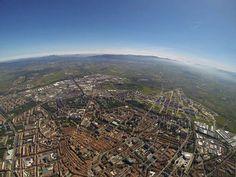 Vista aérea de Vitoria