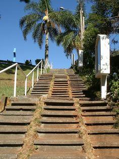 Escadaria do Morro do Cristo  União da Vitoria/PR