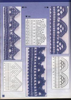 Crochet Lace Edge Trim Border