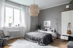 trendy home interior design ideas style texture Gray Bedroom, Trendy Bedroom, Home Bedroom, Modern Bedroom, Bedroom Decor, Bedrooms, Bedroom Lamps, Bedroom Ideas, Master Bedroom