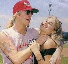 Jani Lane and Bobbie Jean Brown Jani Lane, Brown Image, Glam Metal, Funny Short Videos, Famous Couples, 80s Music, Rock Legends, Ex Wives, Badass Women