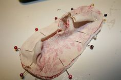 baby ballerina shoes pattern
