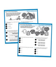 Take a look at this Word Problems Grades 4 to 6 Hot Dots Card Set by Hot Dots on #zulily today!