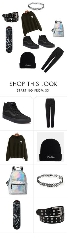 """University style"" by thedarkflamingo on Polyvore featuring moda, Vans, Miss Selfridge, IMoshion, Forever 21 y Wilt"
