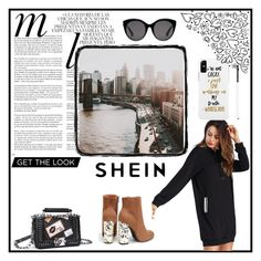 """""""SheIn Contest"""" by ivanaalic ❤ liked on Polyvore featuring Whiteley and Gucci"""