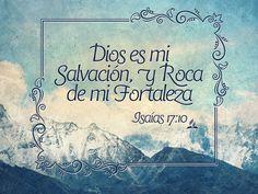 Salmos 18:2 Jehová, roca mía y castillo mío, y mi libertador; Dios mío, fortaleza mía, en él confiaré; Mi escudo, y la fuerza de mi salvación, mi alto refugio. ♔