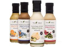 Protein salad dressing