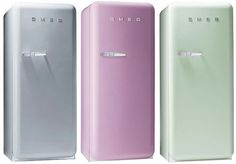 Pastel Smeg fridges...luv it!!!