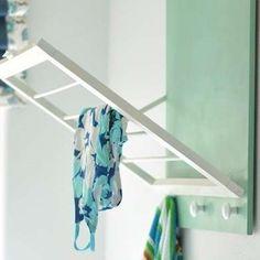 51 Ideas For Laundry Room Organization Diy Towels Laundry Room Drying Rack, Laundry Room Organization, Drying Racks, Diy Organization, Organizing Ideas, Laundry Rack, Laundry Sorter, Towel Racks, Laundry Closet