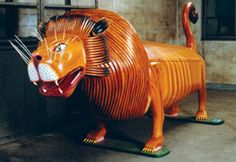 Lion Coffin used in Gahna