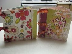 Cheap Chipboard Albums but oh so cute!