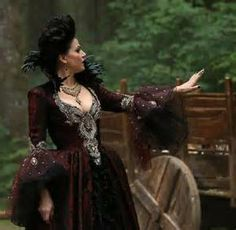 evil queen once upon a time -