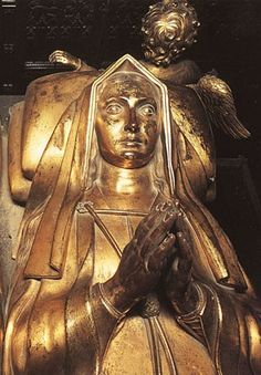 Elizabeth of York (1465 - 1503) - Effigy at Westminster Abbey