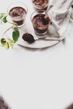 Nigella's Chocolate Olive Oil Mousse