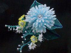 Цветы и другие украшения от Kazari-Sakuiro — Бисерный Дайджест