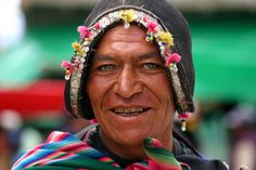Man from Tarabuco, Bolivia | By Pascal Mannaerts