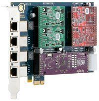 Digium AEX410P Base Card PCI-Express x1 Supports up to 4 Single FXO/FXS Ports by Digium. $240.00. The Digium 1AEX410P is a half-length PCI-Express x1 modular gateway card for connecting analog telephone stations and analog POTS lines through a PC. It supports a combination of up to four station or trunk modules for a total of 4 lines. Using Digium's Asterisk software and standard PC hardware, one can create a telephony environment that includes all of the sophi...