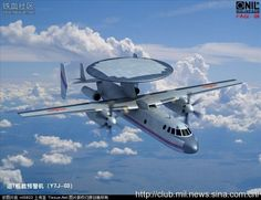 The Y-7J (03) Chinese Carrier-Capable Tactical Airborne Early Warning Aircraft