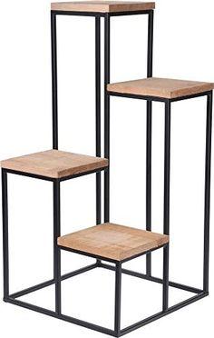 Metal Furniture, Furniture Design, Tv Unit Interior Design, Chic Office Decor, Standing Table, Decoration Plante, Plant Shelves, Iron Decor, Home Room Design