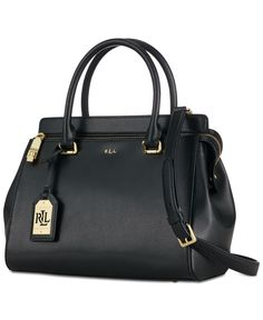 Lauren Ralph Lauren Whitby Satchel Handbags   Accessories - Macy s 62fa0e89438f3