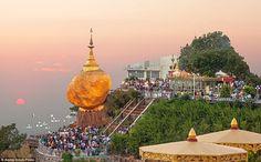 Khám phá chùa Đá Vàng ở Myanmar | Thế Giới Đó Đây