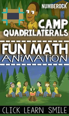 Ad-Free Quadrilaterals Math Song and Animation