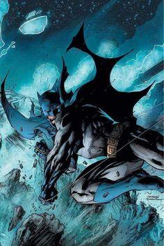 Batman / Cover Art by Jim Lee Batgirl, Nightwing, Catwoman, Comic Art, Comic Books Art, Im Batman, Batman Robin, Gotham Batman, Batman Stuff