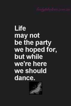 Keep on dancing, love this
