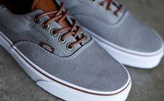 Vans Era 59 Shoe (T L) Frost Gray Plus 3 Vans Store 7048056ef