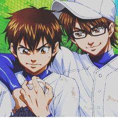 (Diamond no Ace) Sawamura Eijun/Miyuki Kazuya