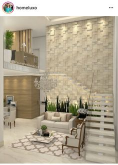 Revestimento Na Parede Da Escada House Layouts, Stairs, House Design,