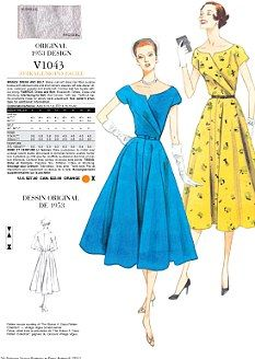 VOGUE DRESS PATTERNS UK |