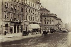 József körút a Népszínház (a későbbi Nemzeti Színház) felé nézve. A felvétel 1893 körül készült. A kép forrását kérjük így adja meg: Fortepan / Budapest Főváros Levéltára. Levéltári jelzet: HU.BFL.XV.19.d.1.07.015