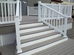Vinyl railing is a maintenance free alternative to wood railing. It lasts longer, looks nicer, and ends up paying for itself. Check out greatrailing.com for more information and our cheap prices ..but all railing are ICC certified and at a commercial grade!
