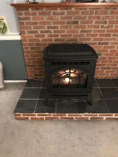 Newly Installed Quadra Fire E2 Pellet Stove Fireplace Stores