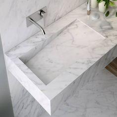 Natural Bathroom, Stone Bathroom, Modern Bedroom Design, Bathroom Interior Design, Dream Bathrooms, Amazing Bathrooms, Washbasin Design, Bathroom Goals, Bathroom Photos
