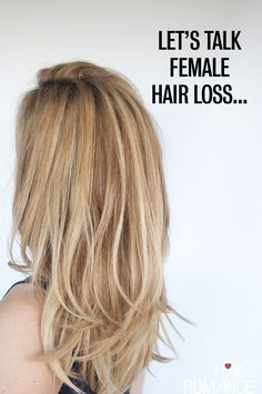 Hair Romance - let's talk female hair loss