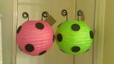 Ladybug Lanterns