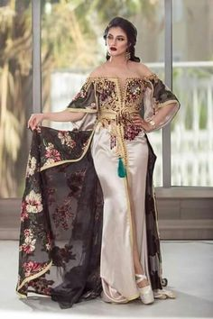 Robe Tunisienne, Caftan Tunisien, Robe Traditionnelle Tunisienne, Tenue  Traditionnelle Algérienne, Caftan De