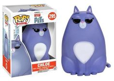 Product Info What do your pets do when you're not home? The Secret Life of Pets Chloe Pop! Vinyl Figure features the Tabby cat as a stylized vinyl figure! Standing about 3 3/4 inches tall, this figure
