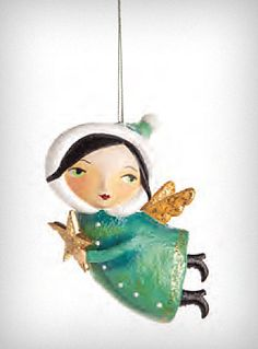 Angel with Star Ornament