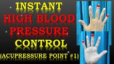 Acupressure Points for High Blood Pressure (Instant High BP Control)-(Hi...