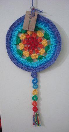 MANDALA CHAKRAS - Crochet - Tejidos de Punto - 396826