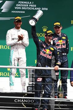 Daniel Ricciardo 2nd at German Grand Prix 2016
