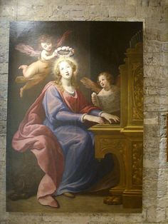 Matteo Rosselli, Santa Cecilia, 1615-20, Prato, Museo dell'Opera del Duomo